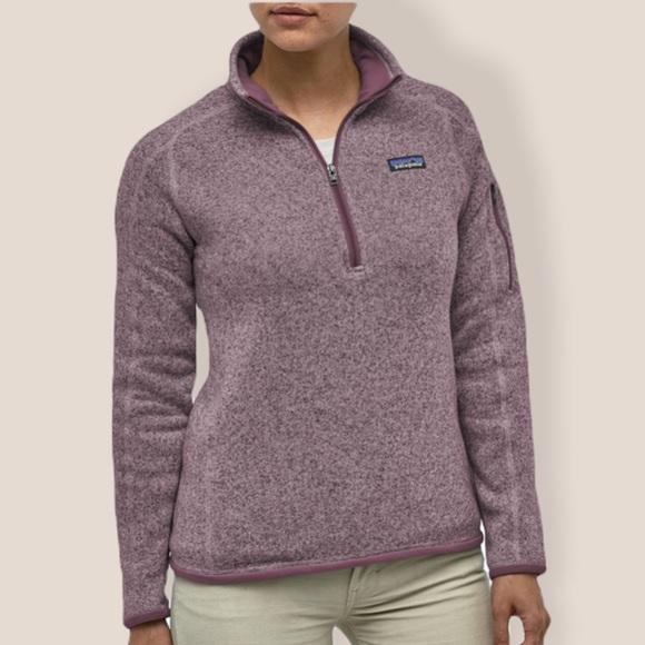 Patagonia better sweater hazy purple